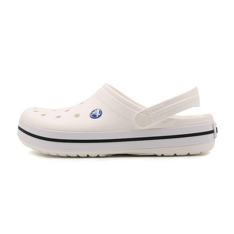 卡骆驰 Crocs  男女 卡骆班平跟沙滩鞋防滑凉鞋拖鞋洞洞鞋 11016-100