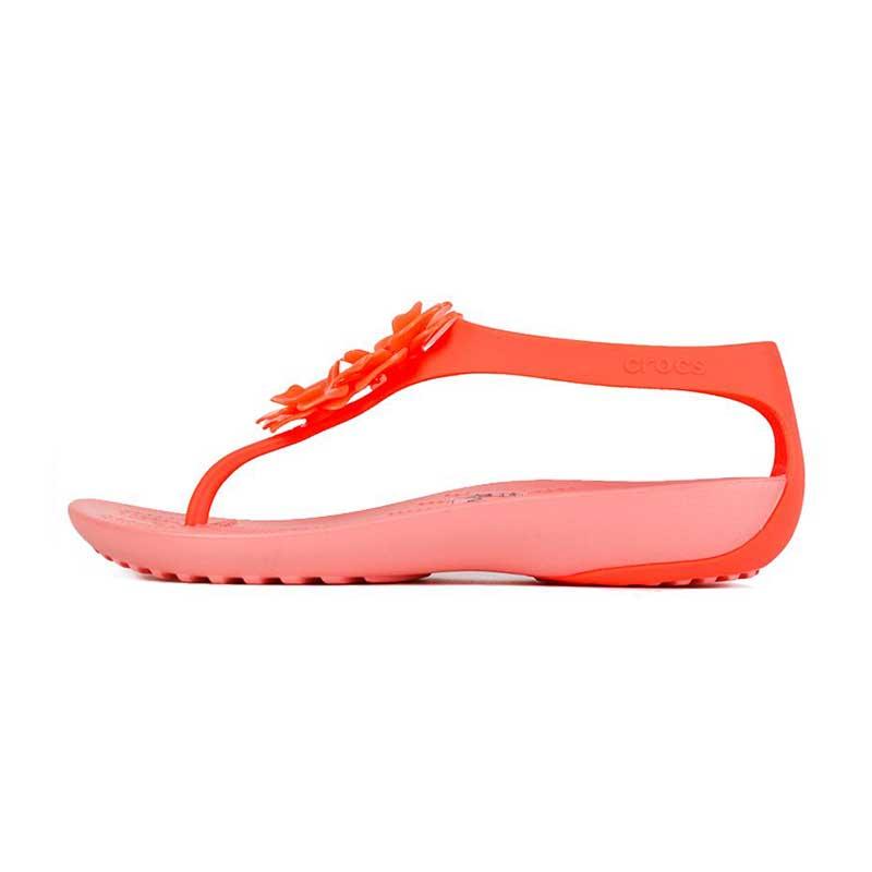 卡骆驰 Crocs 女子 瑟琳娜人字凉鞋  205600 205600-6PT