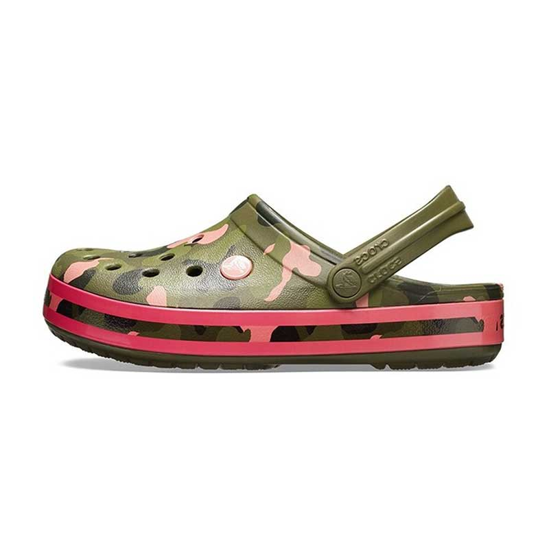 Crocs 卡骆驰 男女 卡骆班花纹克洞洞凉鞋凉鞋拖鞋 205579 205579-30L 205579-3S9