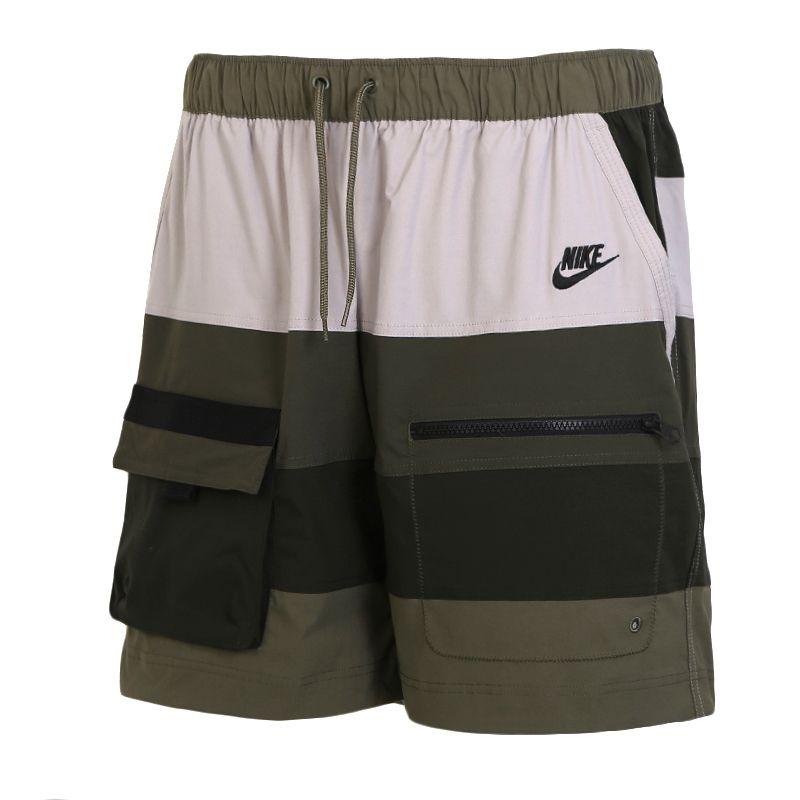 耐克NIKE  NSW HYPE HIKE SHORT WVN 男装 休闲透气运动五分短裤 CU4225-222