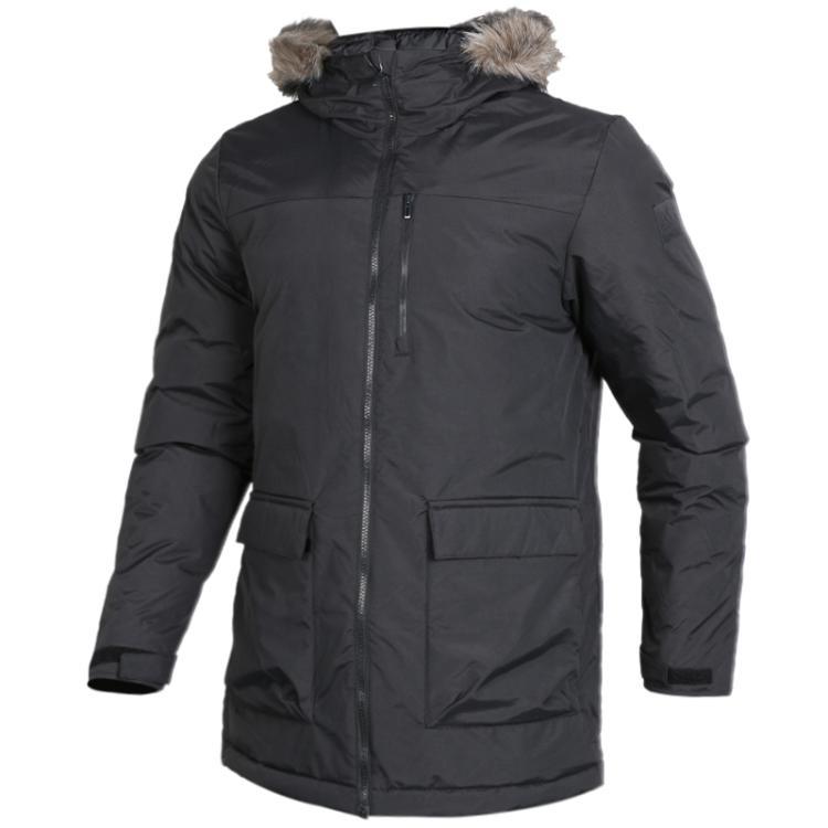 Adidas 阿迪达斯neo 男装 运动连帽保暖棉服外套 BS0980