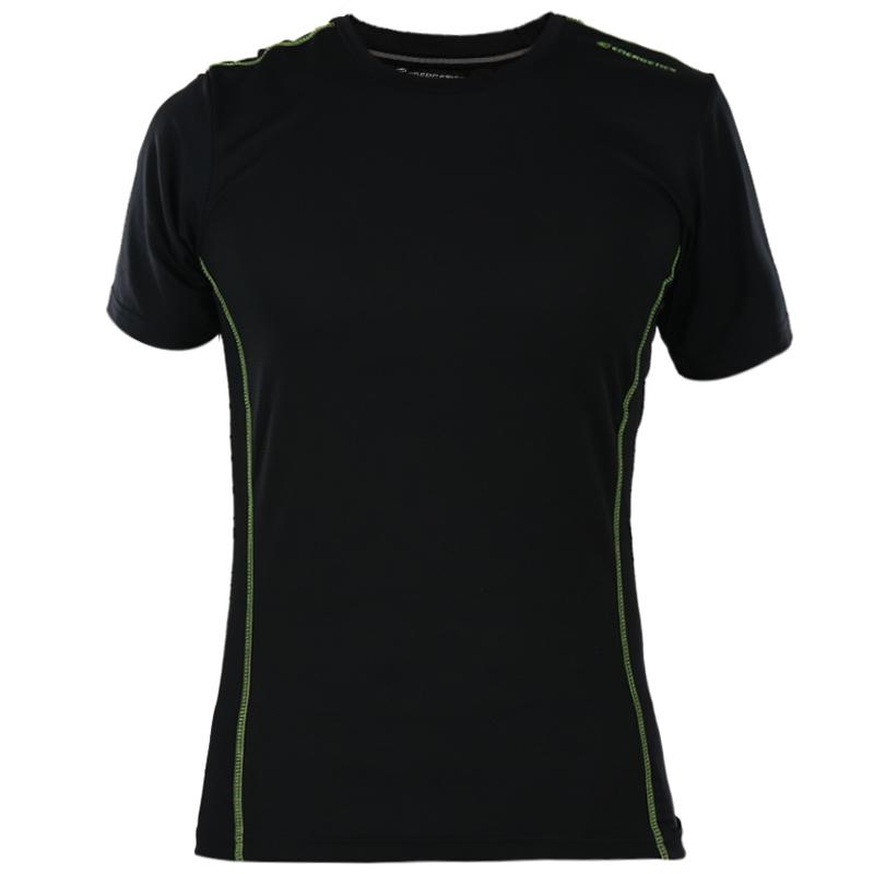 能量 男子 时尚休闲透气跑步训练快干短袖T恤 285264 285264-901050