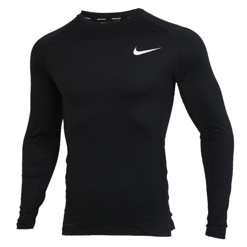 耐克NIKE  NP TOP LS TIGHT 男装 跑步训练运动套头衫长袖T恤 BV5589-010