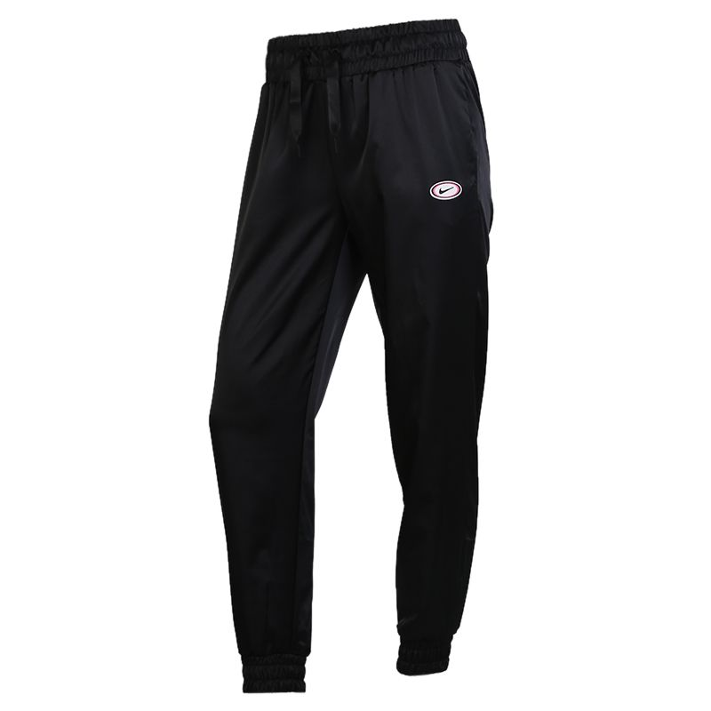 耐克NIKE AS  FEMME TRK PANT SATIN 女装 收口束脚运动裤跑步长裤 DA2467-010