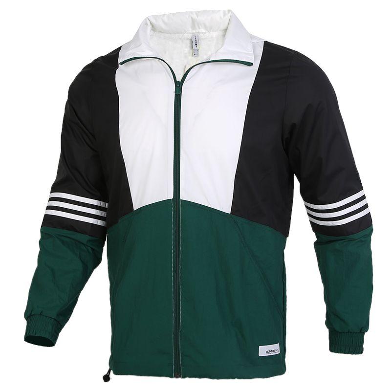 阿迪生活Adidas NEO  SS TCNS WB 1 男装 宽松透气连帽防风休闲夹克 GJ8762