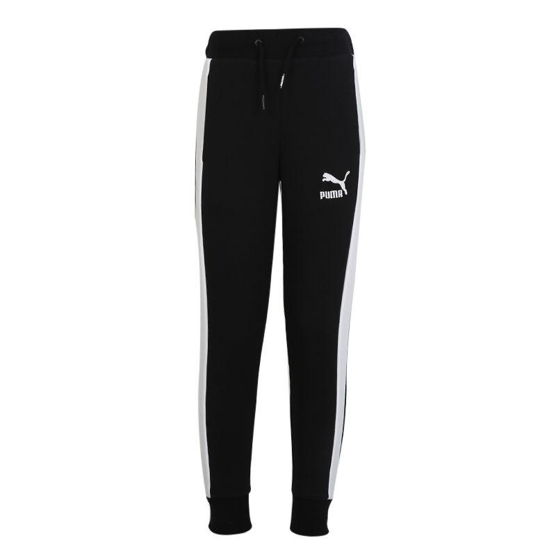 彪马PUMA Classics T7 Sweatpants G 儿童 运动跑步训练休闲长裤 583346-01