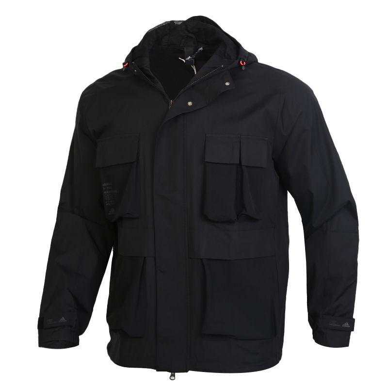 阿迪达斯ADIDAS TH WB JKT 男装 运动型格夹克外套 GF4019
