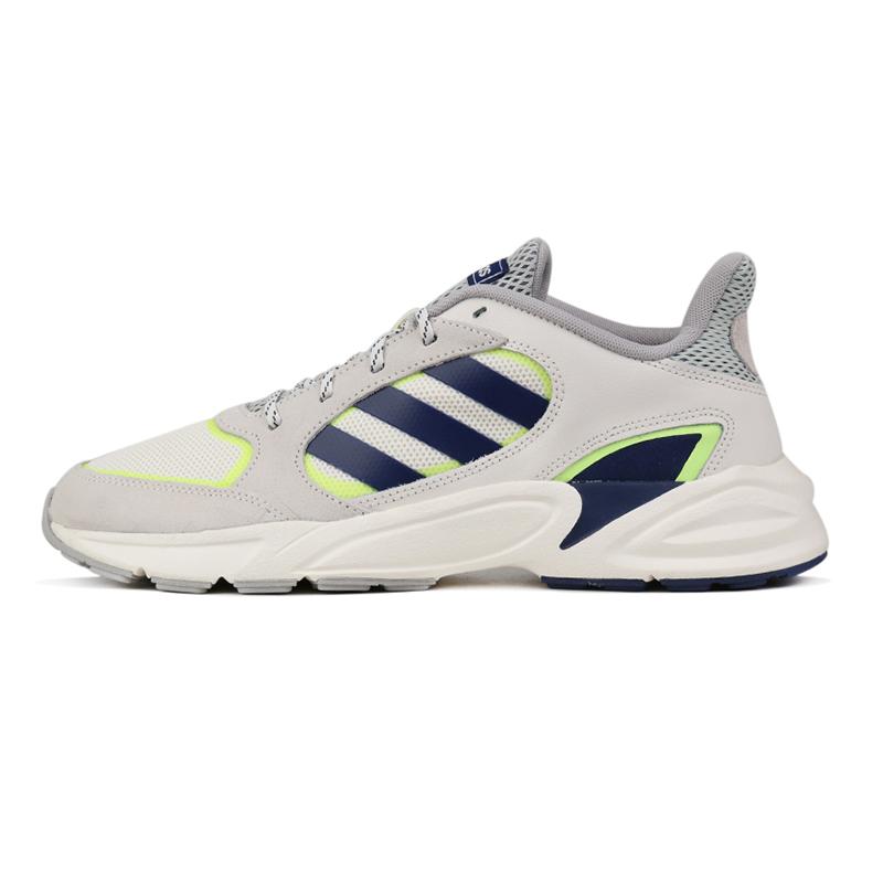 阿迪达斯 adidas 男子 缓震透气休闲舒适耐磨低帮跑步鞋 EE9895