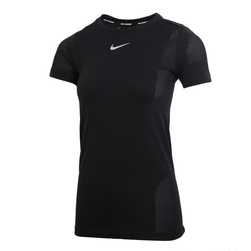 耐克NIKE  INFINITE TOP SS 女装 运动跑步透气短袖T桖 CU3121-010