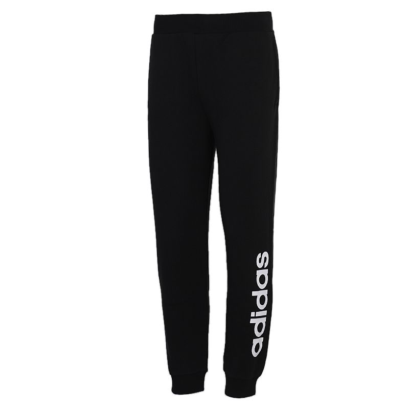 阿迪生活Adidas NEO  ESNTL LOGO TP 男装 运动裤休闲收口跑步长裤 GJ8923