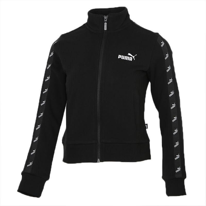 彪马PUMA Amplified Track Jacket TR 女装 立领运动上衣休闲夹克 586598-01