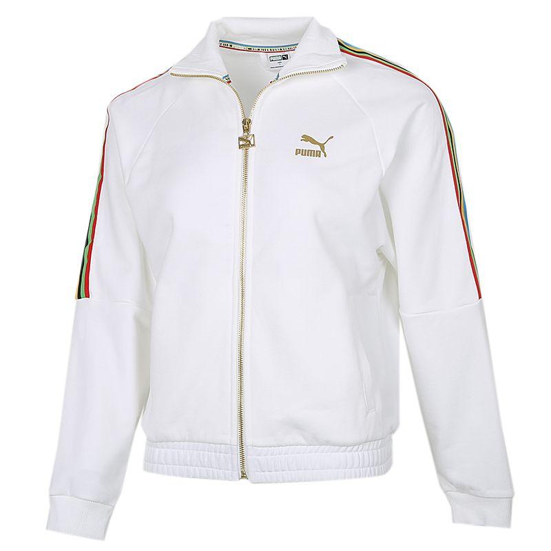 彪马PUMA TFS T7 Track Jacket 女装 透气运动夹克休闲服 599061-02