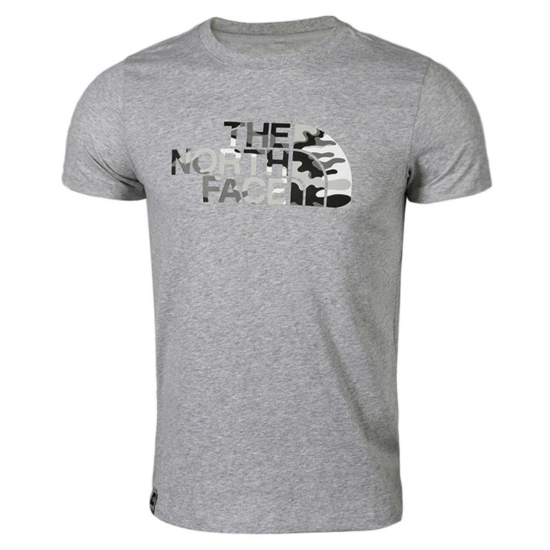 北面 TheNorthFace 男子 春夏户外运动休闲透气柔软舒适短袖T恤3V4QDYX
