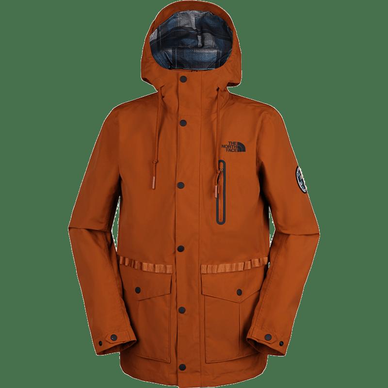 北面 TheNorthFace 男子 运动户外休闲徒步防风防水保暖连帽夹克冲锋衣外套 3V3OUBT