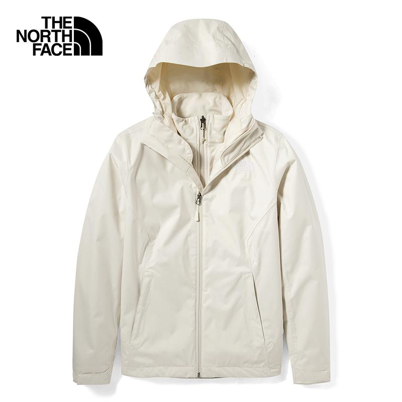 北面TheNorthFace ARROWOOD TRICLIMATE JACKET - AP 女装 户外三合一外套防水登山服冲锋衣  4N9W11P