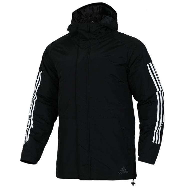 TZ  阿迪达斯 adidas  男子 优选套装  休闲外套棉服CY8624 + 休闲长裤 DT9901