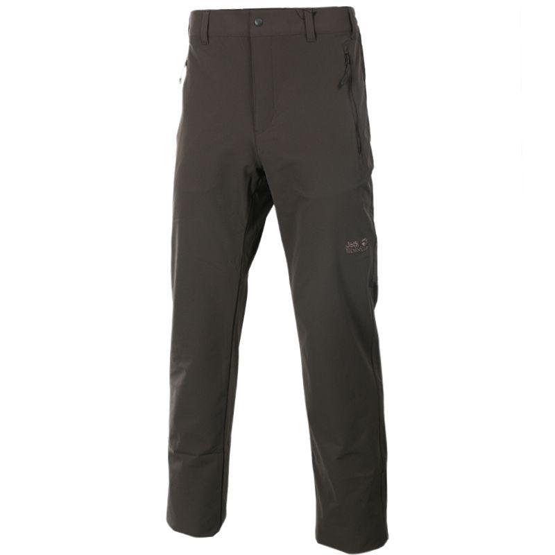 狼爪Jack wolfskin 5012151-7010 男装 户外休闲软壳长裤 5012151-7010