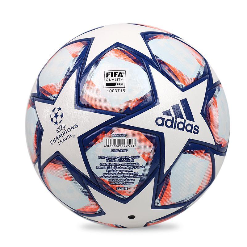 阿迪达斯ADIDAS FIN 20 COM 男子 比赛用球5号球标准成人训练耐磨实战球 FS0257