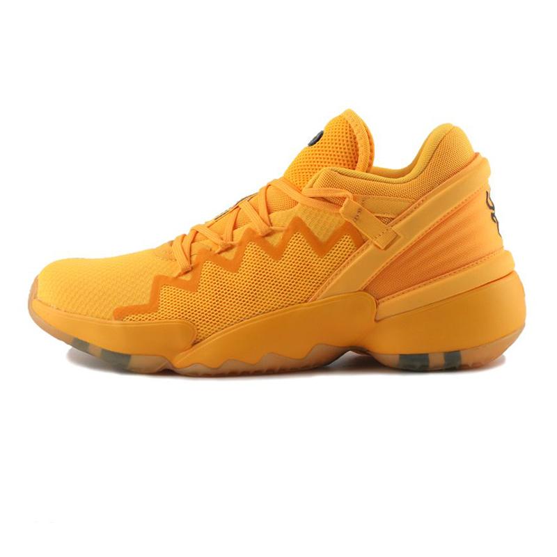 阿迪达斯ADIDAS D.O.N. Issue 2 GCA 男鞋 实战篮球鞋透气运动鞋战靴 FW9048