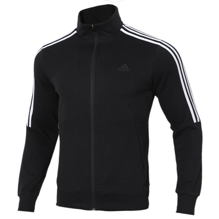 TZ  阿迪达斯 Adidas  男子 防风舒适立领夹克开衫外套 DW4598  +  针织长裤DU0468