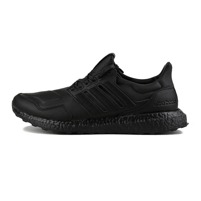 阿迪达斯 adidas UltraBOOST leather 中性 运动休闲Boost缓震耐磨舒适跑步鞋 EF0901