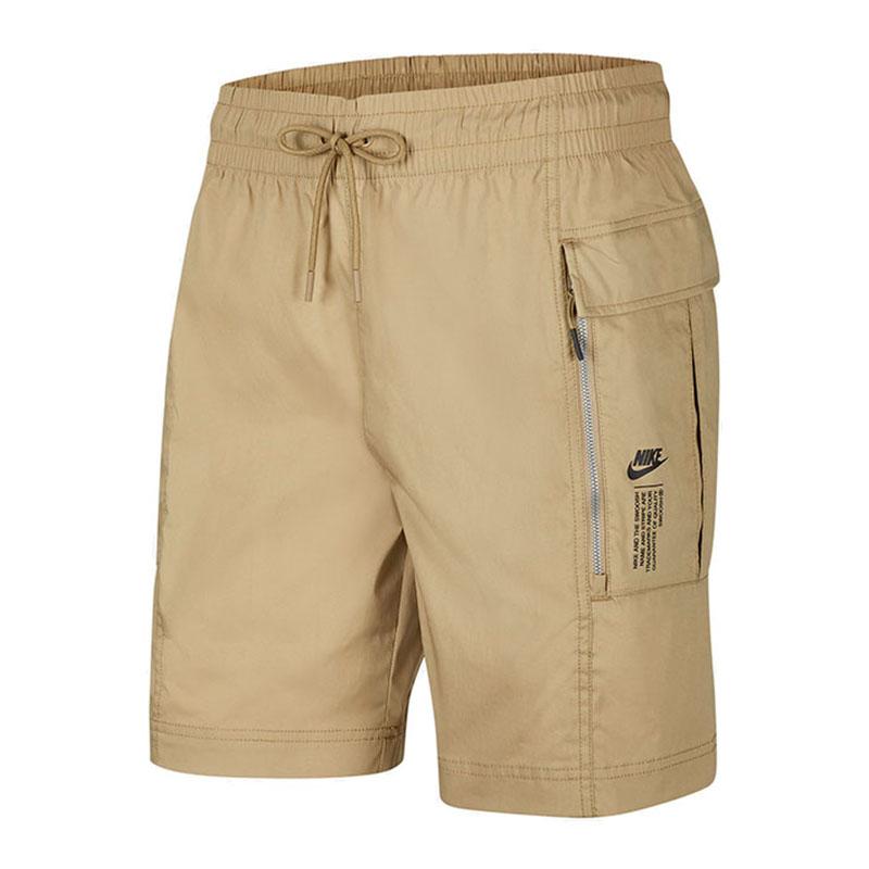 耐克NIKE AS  NSW HBR WVN CARGO SHORT 男装 工装运动裤短裤五分裤 CZ8679-201
