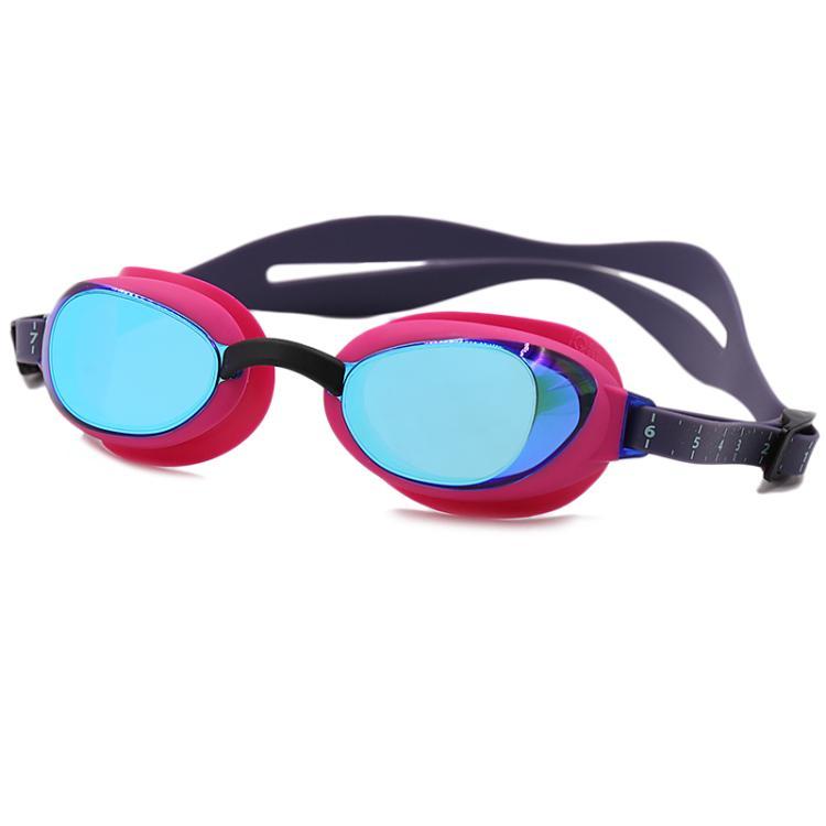 速比涛speedo 泳镜女游泳眼镜高清竞速竞技防雾游泳镜 8-09007B770