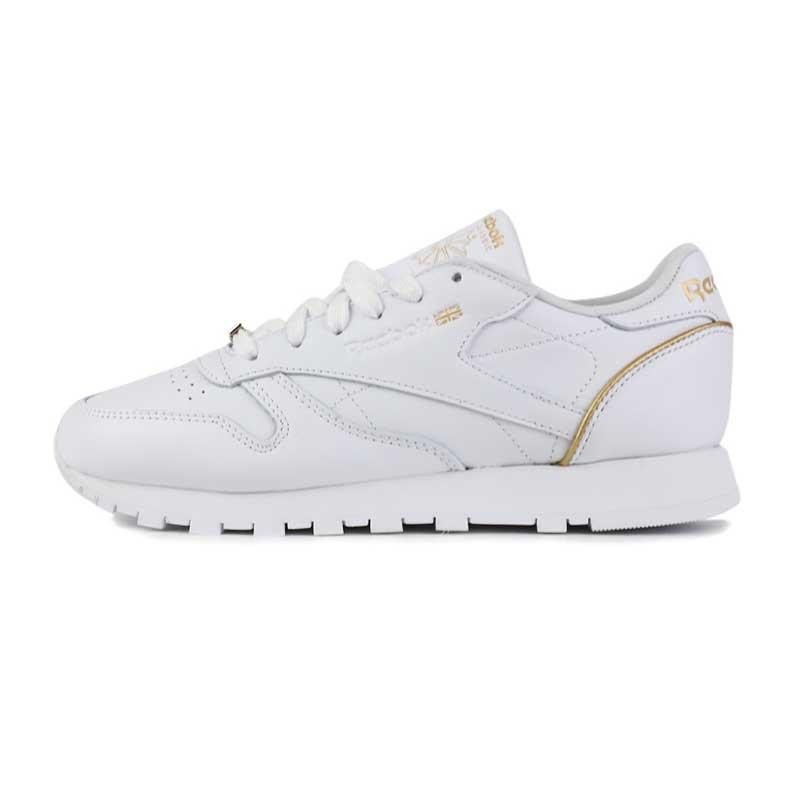 锐步 Reebok 女子 时尚耐磨舒适透气低帮休闲鞋板鞋 BS9878