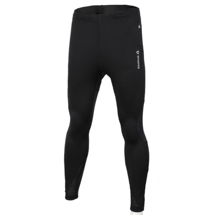 锐步Reebok男裤 夏季 健身运动紧身裤运动长裤AI1017