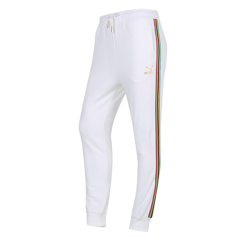 彪马PUMA TFS T7 Track Pants 女装 运动宽松休闲裤健身长裤 599062-02