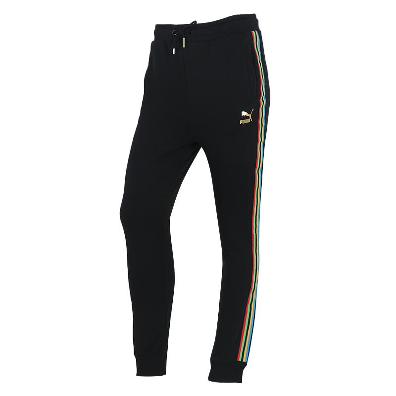 彪马PUMA TFS T7 Track Pants 女装 运动宽松训练健身休闲裤 599062-51