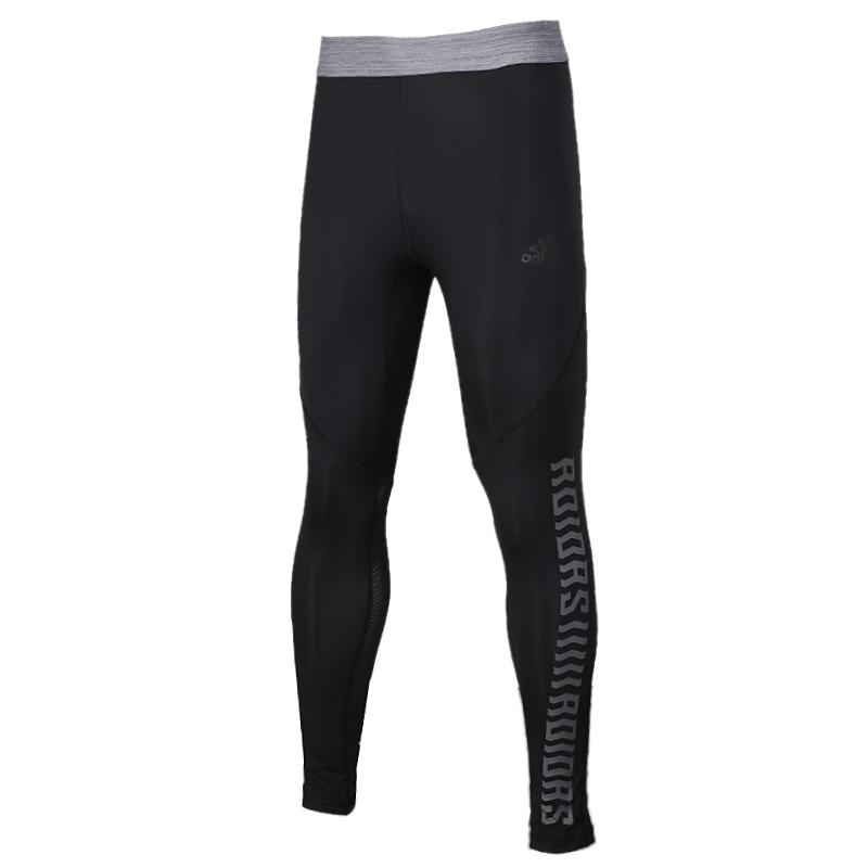 阿迪达斯 adidas ASK SPRGFX LT 男装 运动裤跑步健身训练透气紧身小脚裤弹力裤长裤子 FJ5149