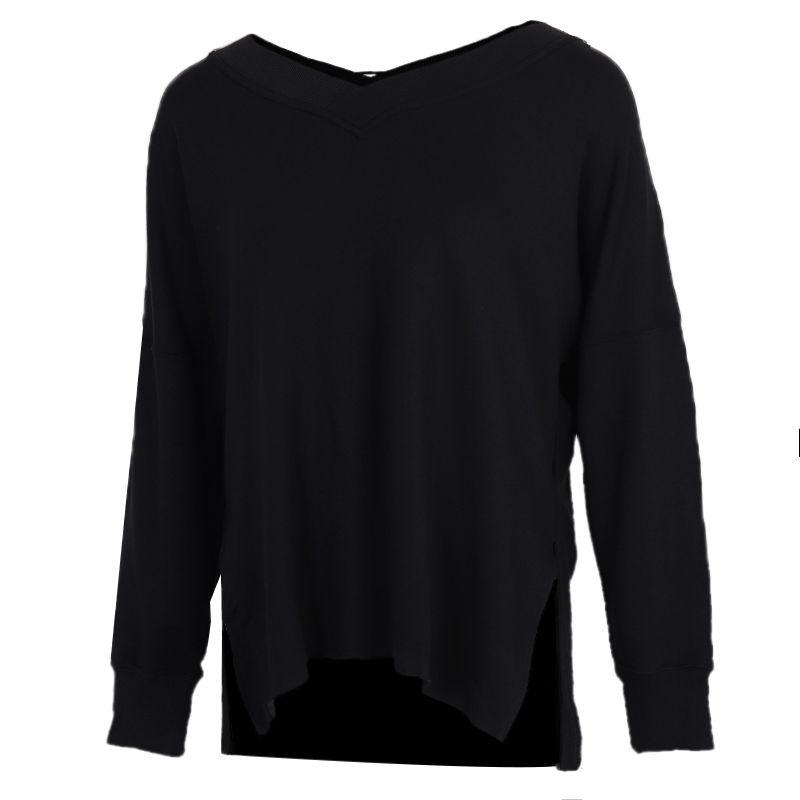 耐克NIKE AS YOGA STMT CLN COVER UP 女装 运动休闲跑步服潮流透气套头衫卫衣  CU5491-010