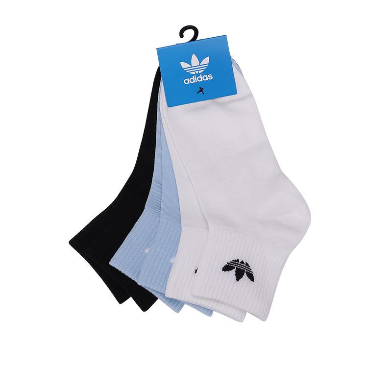 阿迪达斯adidas KIDS ANKLE SOCK 儿童 彩色袜子运动休闲短筒袜 GD3131