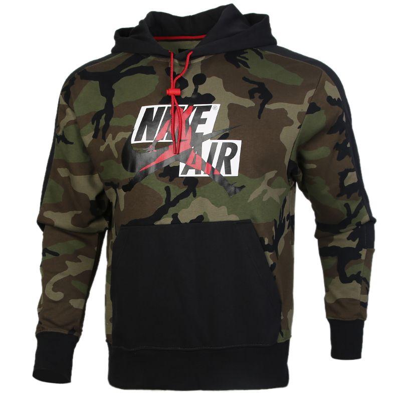 耐克NIKE AS J JM CLSC CAMO FLC PO HDY 男装 Jordan运动休闲套头衫卫衣 CU2902-222