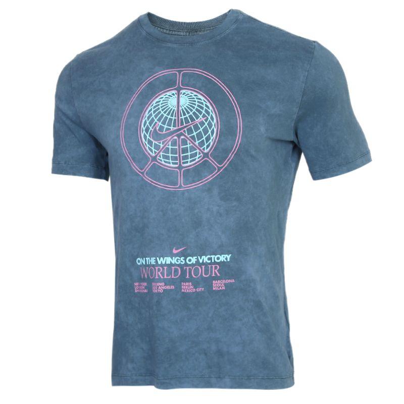 耐克NIKE NSW SS TEE MUSIC TOUR WASH 男装 复古印花运动短袖T恤 CW0407-058