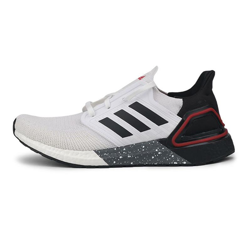 阿迪达斯ADIDAS ULTRABOOST 20 男鞋 运动轻便透气减震跑步鞋 H67837