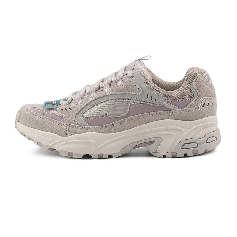 斯凯奇SKECHERS 女鞋 健身训练跑步运动鞋老爹鞋透气耐磨厚底时尚休闲鞋 13450-TPLV