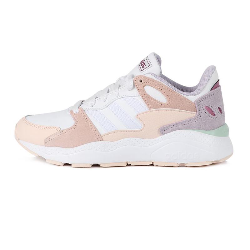 阿迪生活Adidas NEO CRAZYCHAOS 女鞋 网面透气板鞋低帮耐磨休闲鞋 FY7816
