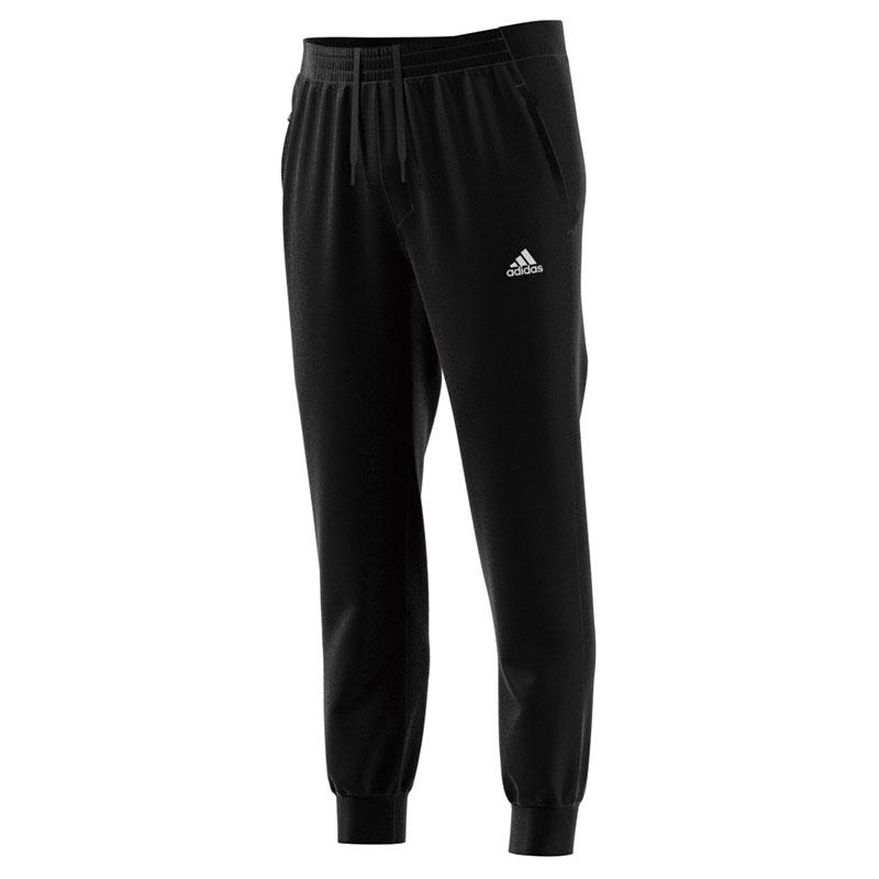 阿迪达斯ADIDAS 男装 2020秋冬新款小脚跑步训练黑色休闲长裤 GF3973