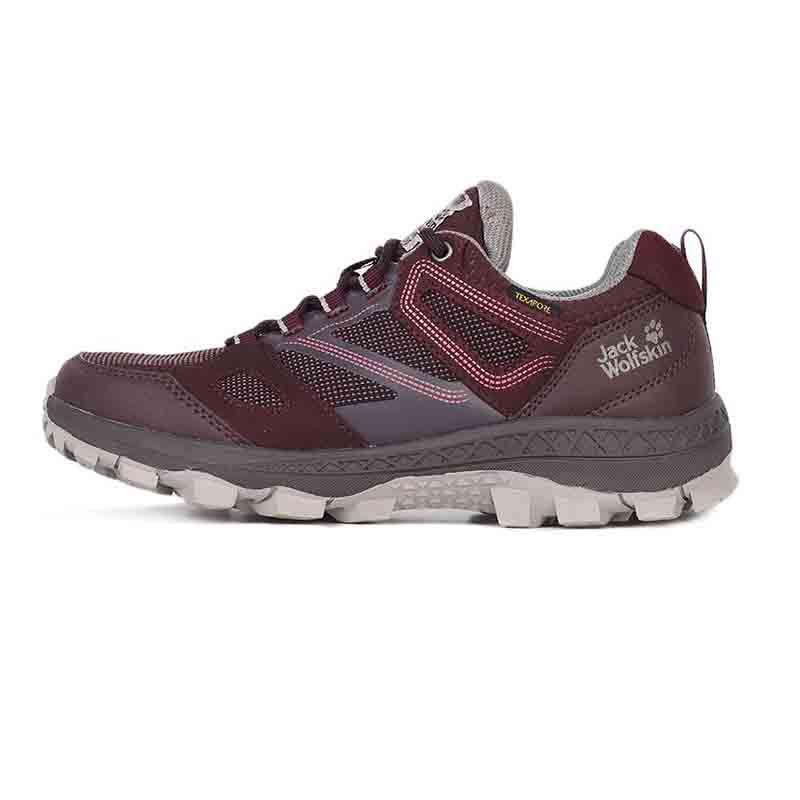 狼爪Jack wolfskin  女鞋 户外徒步透气抓地缓震耐磨登山运动鞋 4044151-2826