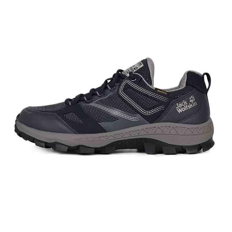 狼爪Jack wolfskin  男鞋 运动减震透气户外登山徒步鞋 4043851-1199