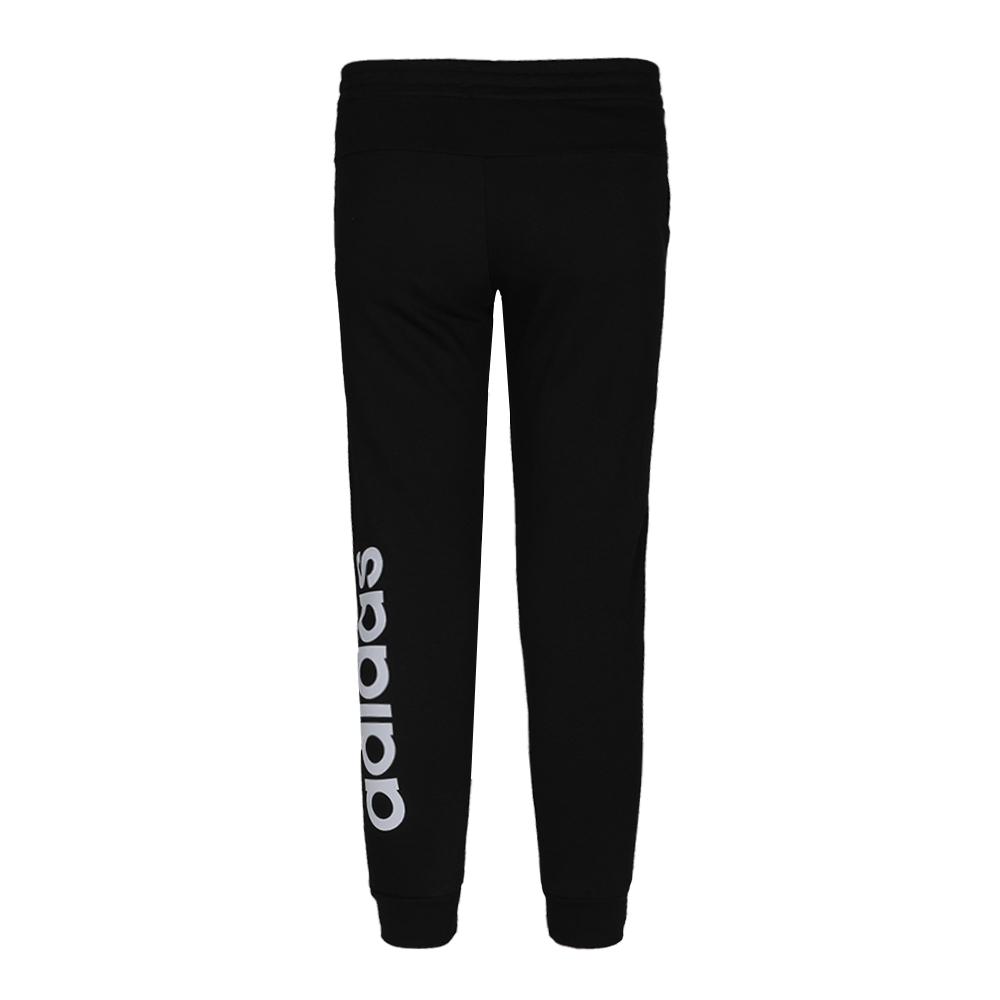 阿迪达斯 adidas YG E LIN Pant 儿童 运动裤舒适透气休闲宽松大logo针织长裤 EH6159