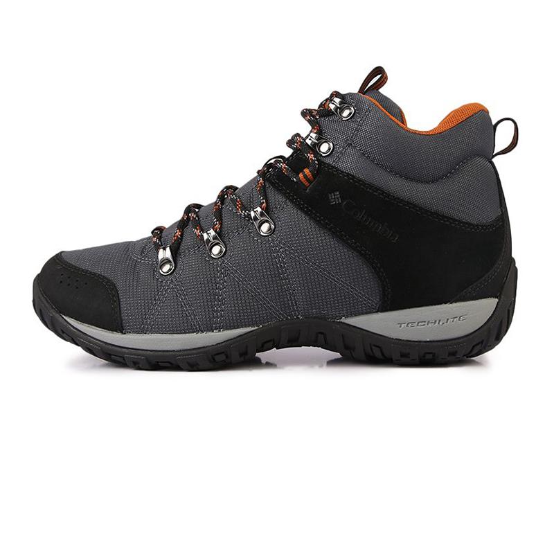 哥伦比亚Columbia 男鞋 2020秋季新款户外运动鞋防滑耐磨鞋子高帮越野跑鞋潮 BM4487053