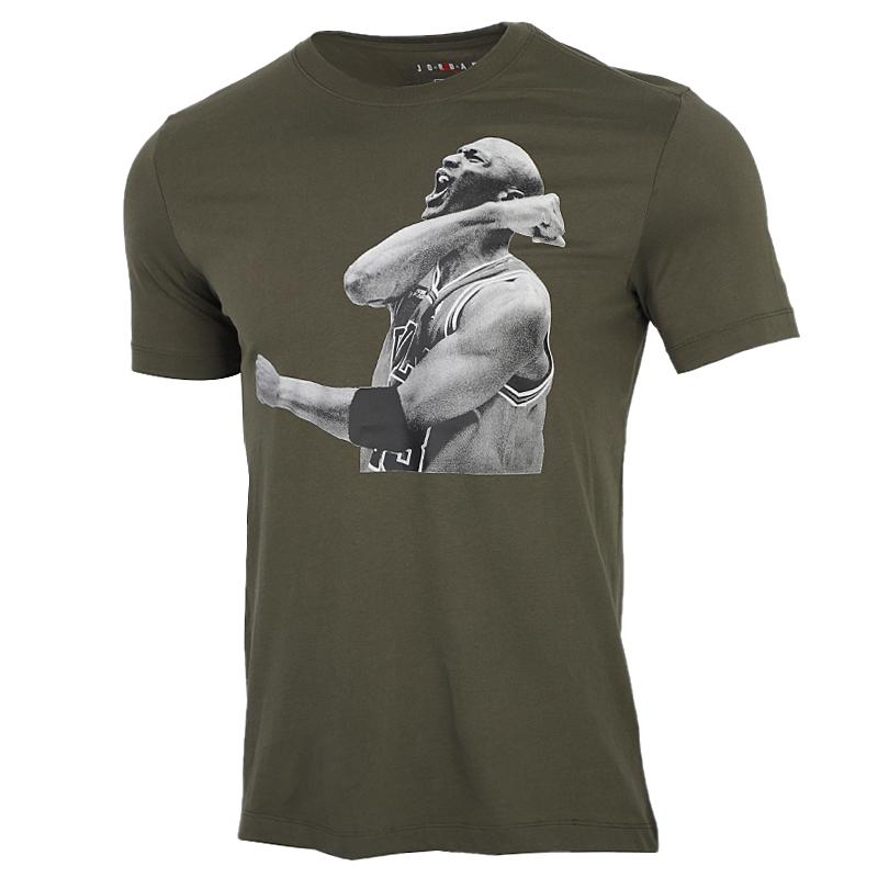 耐克NIKE 男装 运动跑步透气短袖T恤 CN3589-325