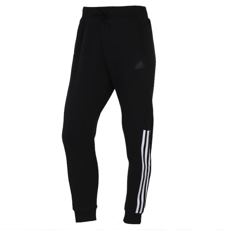 阿迪达斯ADIDAS MH FT PT 女装 运动跑步训练休闲长裤 GF0156