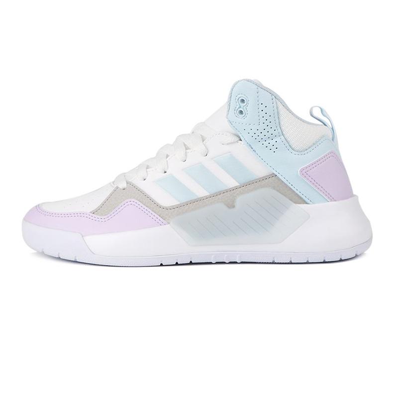 阿迪生活Adidas NEO PLAY9TIS 2.0 女鞋 运动轻便透气复古休闲鞋 FW9353