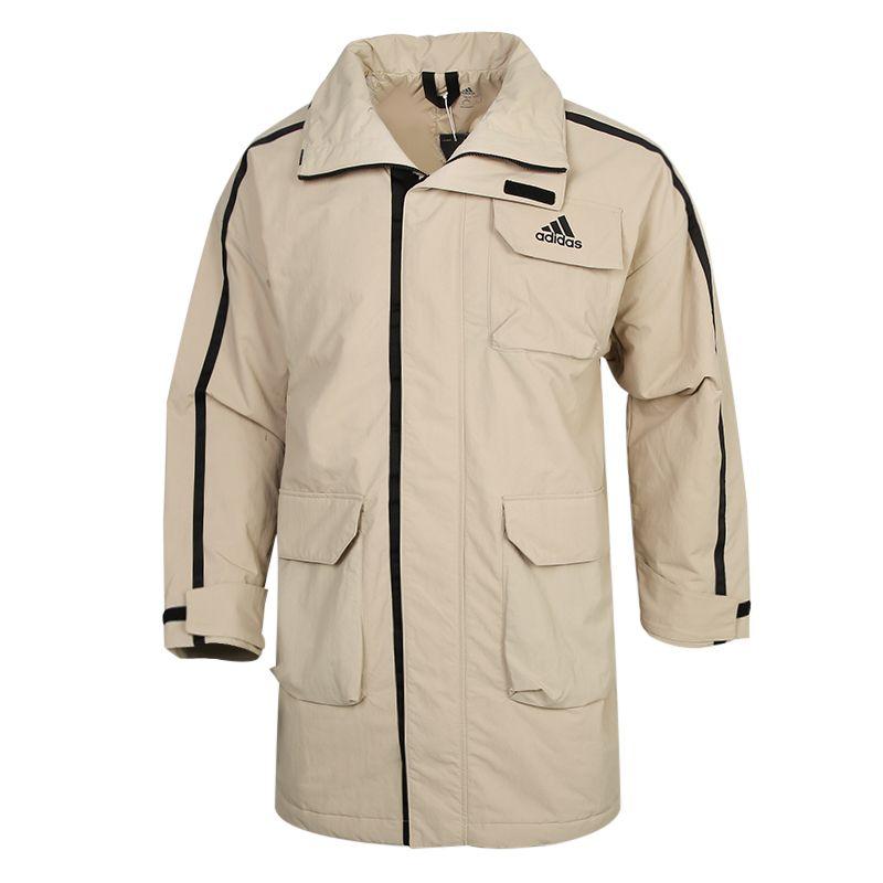 阿迪达斯ADIDAS UTILITAS PARKA 男装 运动外套训练休闲保暖棉衣 FT2463