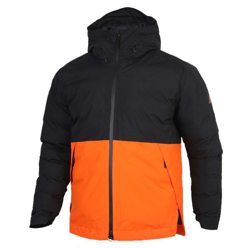 阿迪达斯ADIDAS URBAN IN J R.R. 男装 运动保暖加厚休闲棉服 FT2414