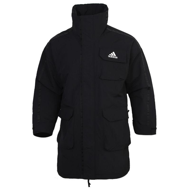 阿迪达斯ADIDAS UTILITAS PARKA 男装 休闲运动外套训练保暖棉服 FT2462